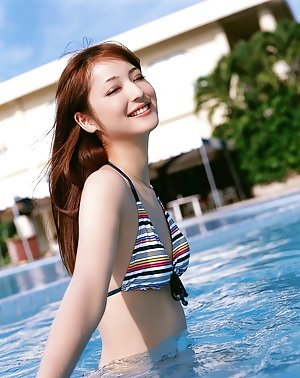 Japanese in Pool Pics