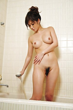Japanese in Shower Pics