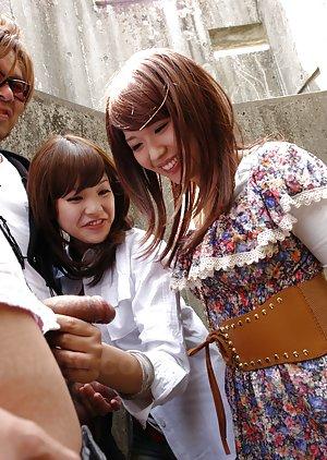 Japanese Handjob Pics